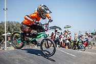#29 (HUISMAN Ruby) NED at round 8 of the 2018 UCI BMX Supercross World Cup in Santiago del Estero, Argentina.
