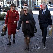 Mattheus Passion 2002 Naarden, Aegon voorzitter van de Raad van Bestuur Kees Stork