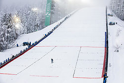 Flag bearer after the Trial Round at Day 1 of FIS Ski World Flying Championship Planica 2020, on December 10, 2020 in Planica, Kranjska Gora, Slovenia. Photo by Vid Ponikvar / Sportida