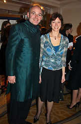 LUDOVIC LINDSAY and MRS MARCUS DE FERRANTI at a dinner in aid of the BAAF (British Association for Adoption & Fostering) held at The Savoy, London on 22nd March 2005.<br /><br />NON EXCLUSIVE - WORLD RIGHTS