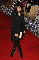 LONDON - JANUARY 11:  Claudia Winkleman attends the UK Gala Premiere of 'W.E.' at the Odeon Kensington cinema, London, UK on January 11, 2012. (Photo by Richard Goldschmidt)