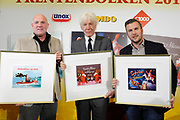 Presentatie Sinterklaasboeken 2014 in de OBA - Openbare Bibliotheek Amsterdam <br /> <br /> Op de foto:  Andre Kuipers , Paul van Vliet en Winston Gerschtanowitz  met hun sinterklaasboek