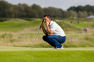 08-10-2017 - Foto van de finaledag van de Dutch Masters 2017, een European Senior Tour Event. Gespeeld op The Dutch in Spijk van 6 t/m 8 oktober.  Peter T Wilson