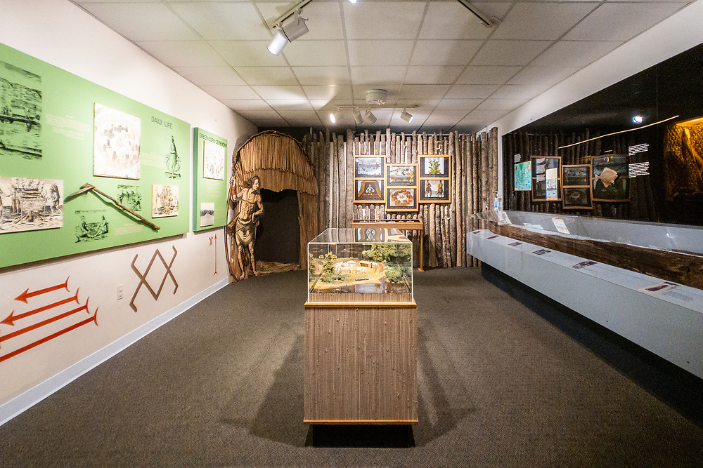 Exhibits at the Museum of the Cape Fear in Fayetteville, North Carolina on Sunday, August 15, 2021. Copyright 2021 Jason Barnette