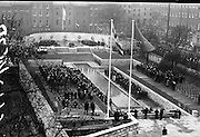 Opening and Blessing of Garden of Rememberance on the fiftieth anniversary of the 1916 Easter Rising. The Garden was designed by Dáithí Hanly..11.04.1966