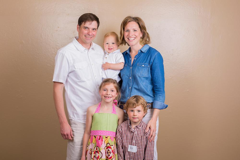 Family Portrait. Denver, Colorado