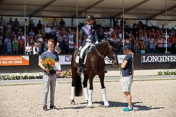 Freese Isabel, NOR, Fuersten Look, breeder, Sabel Johannes<br /> World ChampionshipsYoung Dressage Horses<br /> Ermelo 2018<br /> © Hippo Foto - Dirk Caremans<br /> 05/08/2018