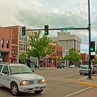 Main Street in Bozeman, Montana.