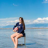 2017 Skyline Lady Eagles VB Freshman Portraits