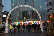 Christmas Lights, Leicester Sq. Sq. London. 3 December 2015