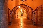Israel, Jerusalem old city, Interior of The Cardo