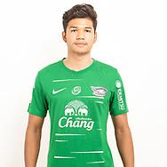 THAILAND - JUNE 11: Worawut Sukhuna #1 of Chon Buri FC on June 11, 2019.<br /> .<br /> .<br /> .<br /> (Photo by: Naratip Golf Srisupab/SEALs Sports Images/MB Media Solutions)