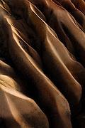 Abstract rockshapes in a canyon in Capadocia, Turkey.