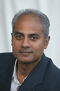BBC journalist and presenter George Alagiah pictured at the Edinburgh International Book Festival where he talked about his new book entitled Home From Home about Sri Lanka. The Book Festival was the World's largest literary event and featured writers from around the world. The 2006 event featured around 550 writers and ran from 13-28 August.
