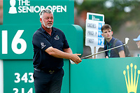 Golf - 2019 Senior Open Championship at Royal Lytham & St Annes - First Round <br /> <br /> Darren Clark (NI) drives off the 16th tee.<br /> <br /> COLORSPORT/ALAN MARTIN