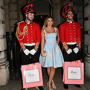 JACQUELINE JOSSA ARRIVERS BOUX AVENUE XMAS CAMPAIGN LAUNCH EVENT at SOMERSET HOUSE, on 9 November 2018, London, UK.
