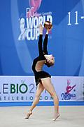 Angelica Kvieczynski was born September 1, 1991, is an individual Brazilian rhythmic gymnast.