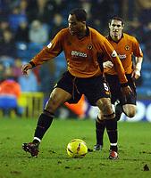 Fotball - Nationwide Division 1 - 21.12.2002<br /> Milwall v Wolves <br /> Jolean Lescott - Wolves<br /> Foto: Roger Parker, Digitalsport