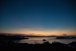 Dusk from One Tree Hill, Hamilton Island, Queensland, Australia