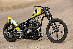 Pat Patterson's Hot Bike Speed and Style Harley-Davidson Sportster Born Free-7 invited builder custom. Oak Canyon Ranch. Silverado, CA. USA. June 28, 2015.  Photography ©2015 Michael Lichter.