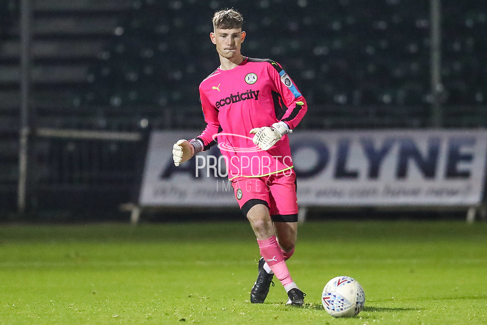 Forest Green Rovers goalkeeper Declan Lehman(1) during the The FA Youth Cup match between Bristol Rovers and Forest Green Rovers at the Memorial Stadium, Bristol, England on 2 November 2017. Photo by Shane Healey.