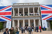 The Cartier Style et Luxe during the Goodwood Festivlal of Speed. Goodwood House. 1 July 2012.