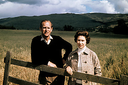 File photo dated 01/09/72 of the Duke of Edinburgh and Queen Elizabeth II at Balmoral celebrating their Silver Wedding anniversary. The Duke of Edinburgh has died, Buckingham Palace has announced. Issue date: Friday April 9, 2020.. See PA story DEATH Philip. Photo credit should read: PA Wire