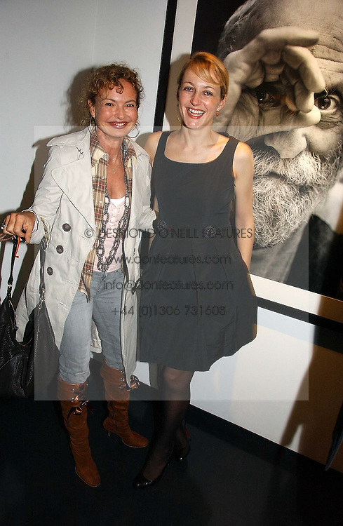 Left to right, COUNTESS MAYA VON SCHONBURG and RITA KONIG at a private view of an exhibition of portrait photographs by Danish photographer Marc Hom held at the Hamiltons Gallery, 13 Carlos Place, London on 23rd October 2006.<br /><br />NON EXCLUSIVE - WORLD RIGHTS
