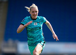 CHESTERFIELD, ENGLAND - Sunday, April 25, 2021: Liverpool's Amalie Thestrup during the FA Women's Championship game between Sheffield United FC Women and Liverpool FC Women at the Technique Stadium. Liverpool won 1-0. (Pic by David Rawcliffe/Propaganda)