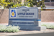 Little Saigon City of Garden Grove Monument