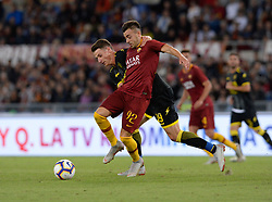 September 26, 2018 - Rome, Italy - Stephan El Shaarawy during the Italian Serie A football match between A.S. Roma and Frosinone at the Olympic Stadium in Rome, on september 26, 2018. (Credit Image: © Silvia Lore/NurPhoto/ZUMA Press)