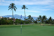 during the first round of the girls HHSAA golf tournament at Kaanapali Golf Resort in Lahaina May 1st 2017. Photo by Aric Becker