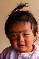 Infant, Tangtse, Ladakh, Jammu and Kashmir State, India.