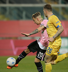 March 10, 2018 - Palermo, Sicily, Italy - ANTONINO LA GUMINA of Palermo during the serie B match between US Citta di Palermo and Frosinone at Stadio Renzo Barbera on March 10, 2018 in Palermo, Italy. (Credit Image: © Gabriele Maricchiolo/NurPhoto via ZUMA Press)