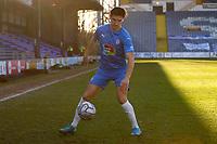Ash Palmer. Stockport County FC 2-0 Chesterfield FC. Vanarama National League. 27.2.21 Edgeley Park.