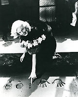 1933 Jean Harlow's hand and footprint ceremony at Grauman's Chinese Theatre