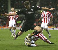 Photo:Mark Stephenson, Stoke City v West Bromwich Albion.<br />Coca Cola Championshipe,25-11-2006.<br />West Broms Darren Carter on the attack.