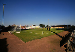 A general view of the One Call Stadium in Mansfield  - Mandatory by-line: Matt McNulty/JMP - 19/07/2016 - FOOTBALL - One Call Stadium - Mansfield, England - Mansfield Town v Hull City - Pre-season friendly
