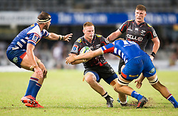 DURBAN, SOUTH AFRICA - APRIL 21: Jean-Luc Du Preez of the Cell C Sharks during the Super Rugby match between Cell C Sharks and DHL Stormers at Jonsson Kings Park on April 21, 2018 in Durban, South Africa. Picture Leon Lestrade/African News Agency/ANA