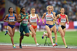 Lynsey Sharp of Great Britain in action - Mandatory byline: Patrick Khachfe/JMP - 07966 386802 - 11/08/2017 - ATHLETICS - London Stadium - London, England - Women's 800m Semi-Final - IAAF World Championships