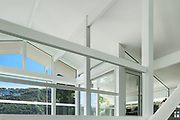 Architecture, open space of a modern house