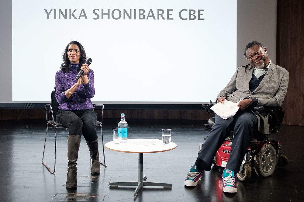 Acclaimed British-Nigerian artist, Yinka Shonibare CBE (RA), delivers the Royal African Society's 2019 Annual Lecture reflecting on art as a means for social change. Shonibare's multi-disciplinary practice explores colonialism and post-colonialism within the context of globalisation. By examining race, class and the construction of cultural identity, Shonibare's works comment on the tangled interrelationship between Africa and Europe, and their respective economic and political histories. (Photos/Ivan Gonzalez)