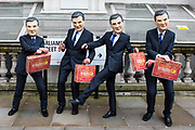 Enough Food IF campaigners arrive at Westminster to call on Osborne to keep promises to the world's poorest.