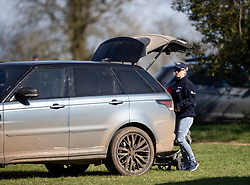 Zara Tindall at the Land Rover Gatcombe Horse Trials, on Gatcombe Park, Gloucestershire.