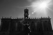 Il Campidoglio sede del Comune di Roma, 11 Ottobre 2015. Christian Mantuano / OneShot<br /> <br /> The Campidoglio, City Hall of Rome, 11 October 2015. Christian Mantuano / OneShot