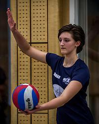 31-03-2018 NED: Finale C Volleybaldirect Open, Wognum<br /> 16 teams van meisjes en jongens C streden om het Nederlands Kampioenschap / Next Volley Dordrecht