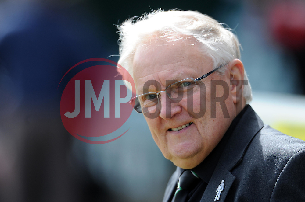Yeovil Town's Chairman John Fry- Photo mandatory by-line: Harry Trump/JMP - Mobile: 07966 386802 - 11/04/15 - SPORT - FOOTBALL - Sky Bet League One - Yeovil Town v Notts County - Huish Park, Yeovil, England.