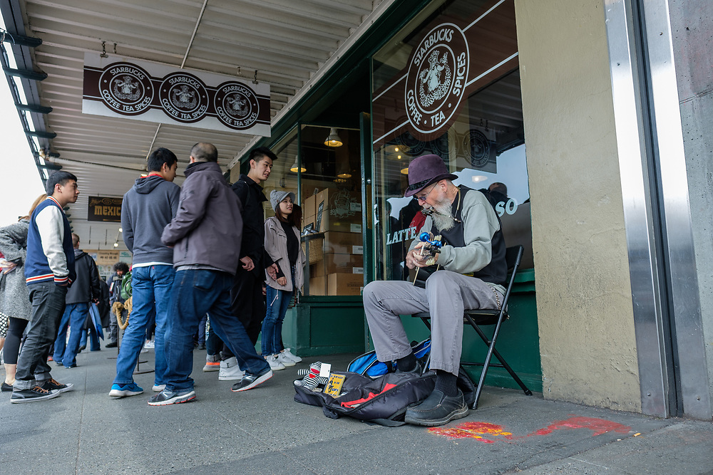 Original Starbucks at Pike Place in Seattle