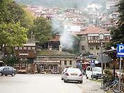 the village of Metsovo, Epirus, Pindus mountains, Greece.