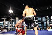 Boxen: Bielefeld, 10.07.2021<br /> Rico Müller (GER) - Kakha Avetisiani (GEO)<br /> © Torsten Helmke